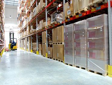 Бетонная стяжка для складских помещений