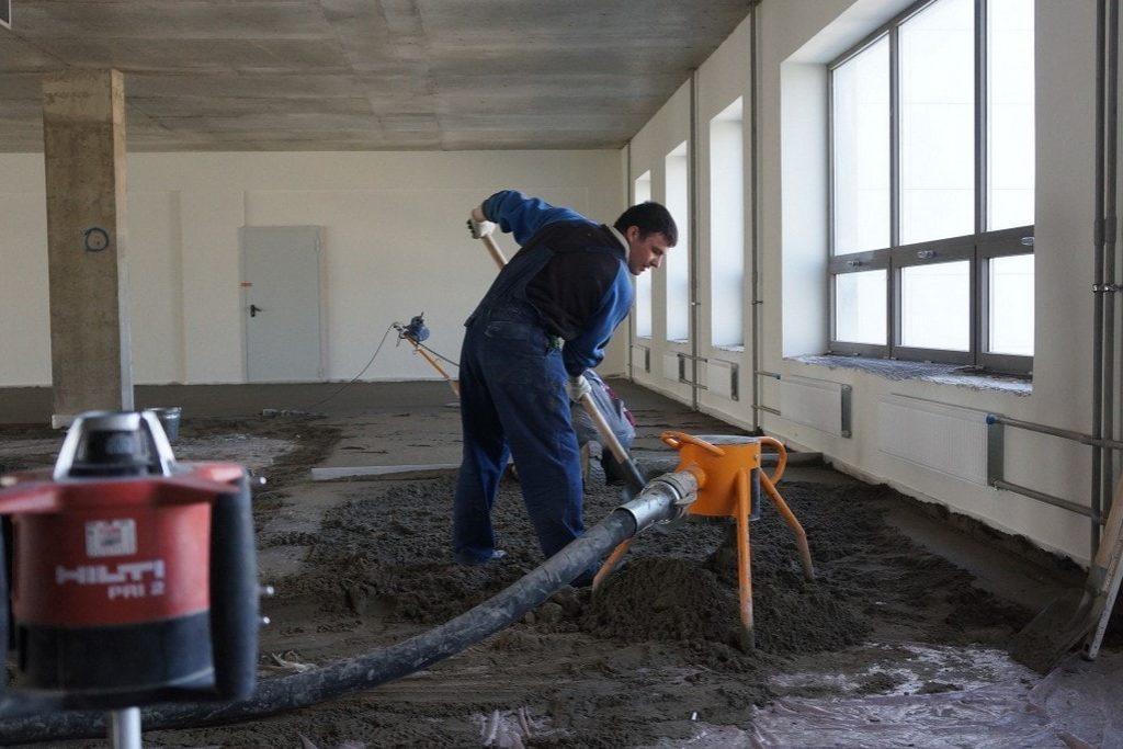 Механизированная подача и укладка бетонной смеси в москве